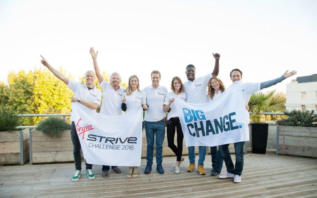 Virgin Strive Challenge 2016