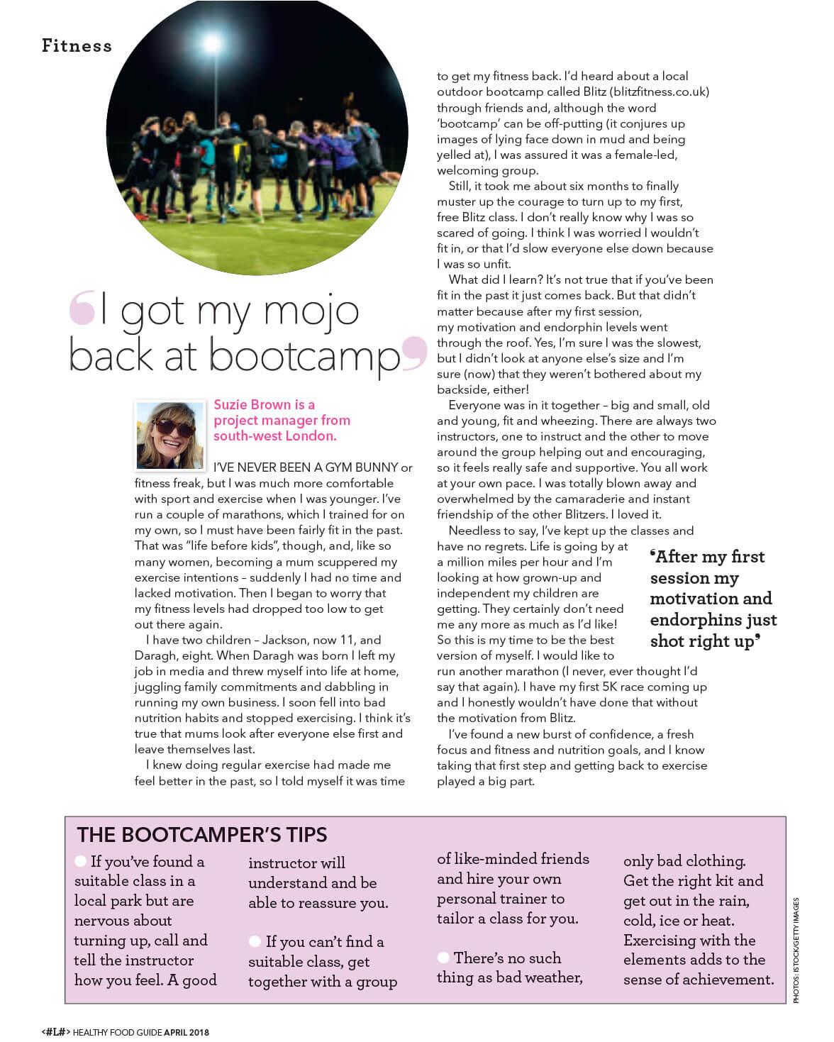 Lara London Post Beat your Fitness Phobia Page 4