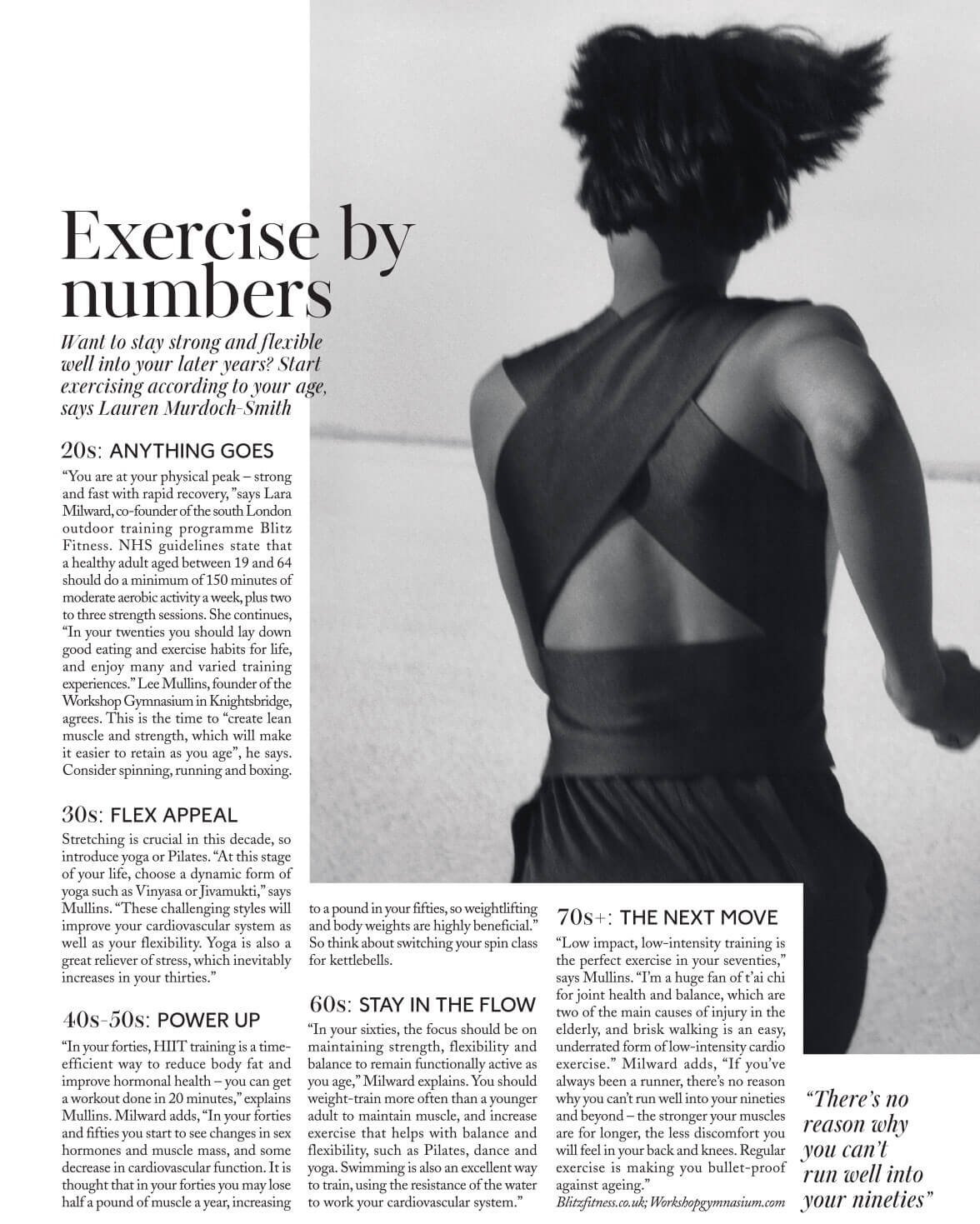 Lara London Post Exercise By numbers page 1
