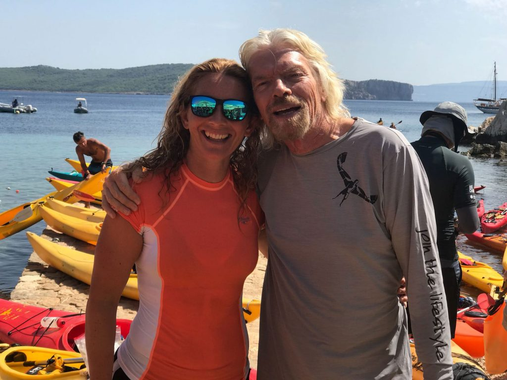 Lara Virgin Strive Challenge 2018 Richard Branson
